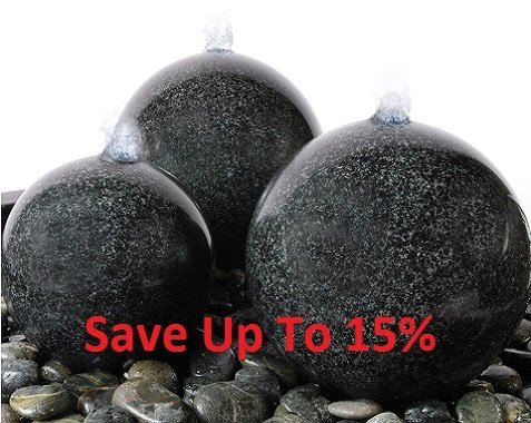 New Year Water Feature Discounts - Save Now!