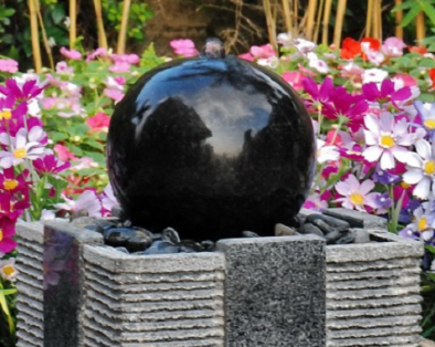 Use a huge ball of nuclear space-fire to run your water feature!