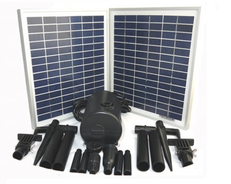 A Wide Range Of Solar Water Features