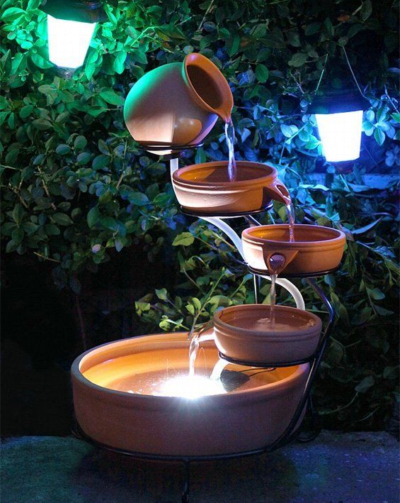 Solar Water Features Solar Powered Fountains