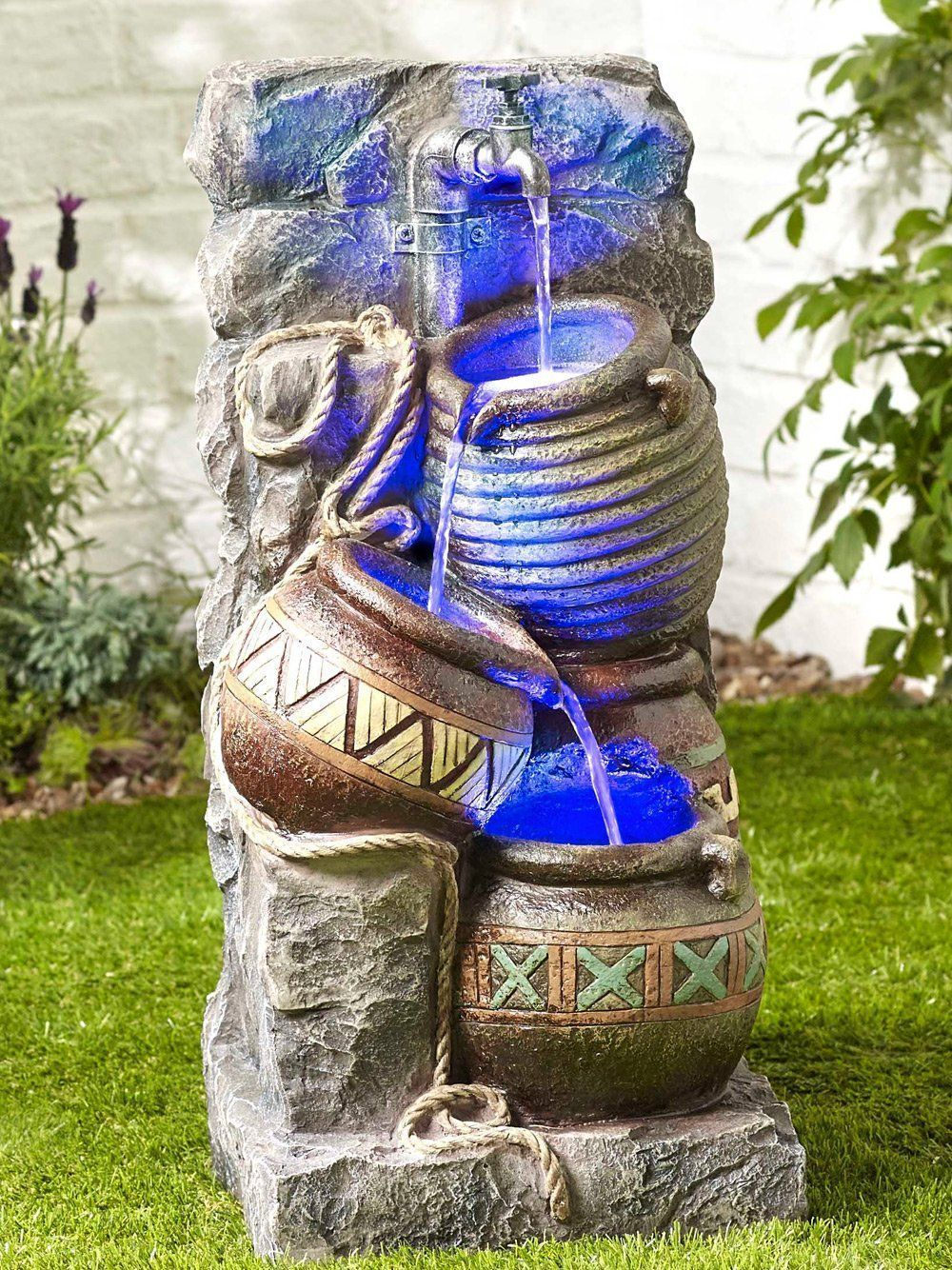 Pouring Pot Wall Kelkay Easy Fountain Water Features 2 Go