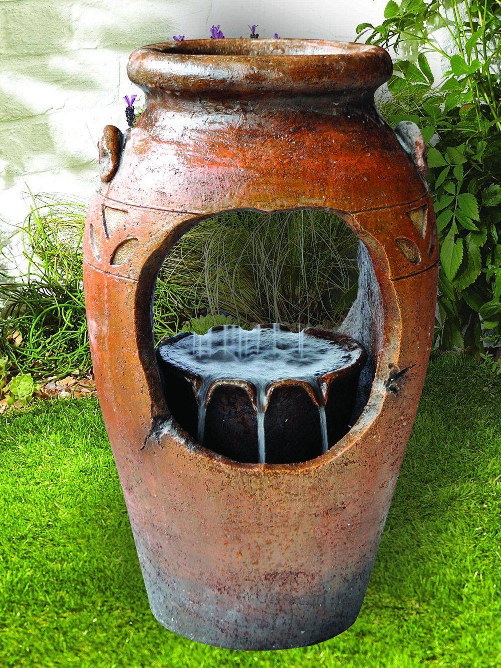 Kelkay Tuscan Vase Easy Fountain Water Feature
