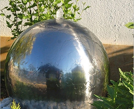Stainless Steel Water Feature Spheres